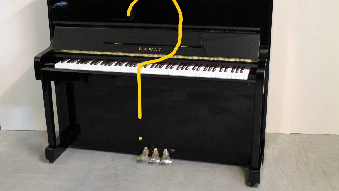 Names of the External Parts of a Piano